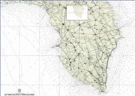 Mappa Nautica Puglia.The Salento Region