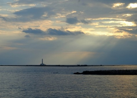 L'Isola di Sant'Andrea di fronte alla città vecchia di Gallipoli