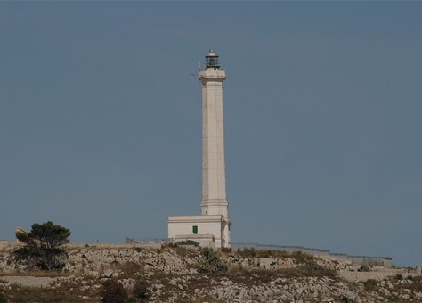 Head lighthouse of cape Leuca
