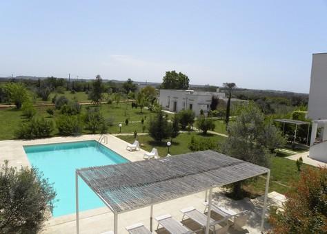 Villa Zefiro vista dalle terrazze