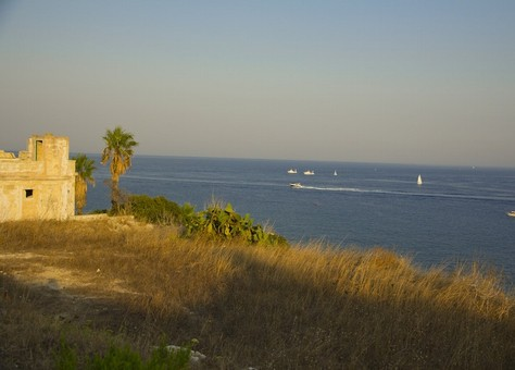 The coast of Salento