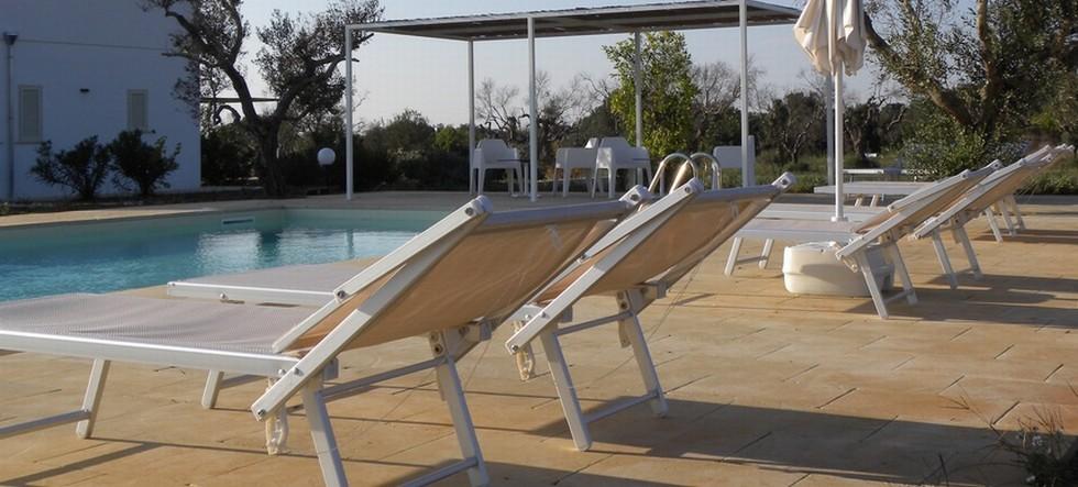 Agriturismo Faresalento solarium piscina